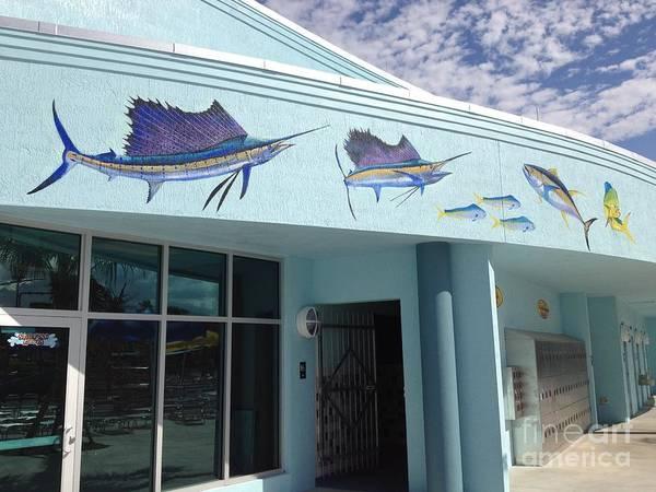 Wall Art - Painting - Sailfish Splash Park 5 by Carey Chen