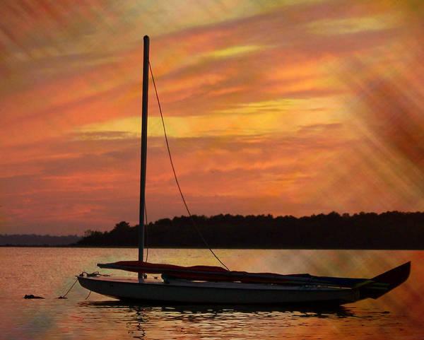 Photograph - Sailin' On Dewey by Trish Tritz