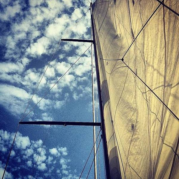 Wall Art - Photograph - Sailing : Ibiza To by Neil Andrews