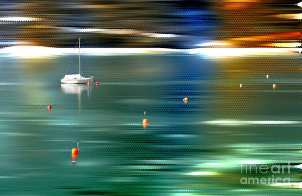 Photograph - Sailing  by Hannes Cmarits