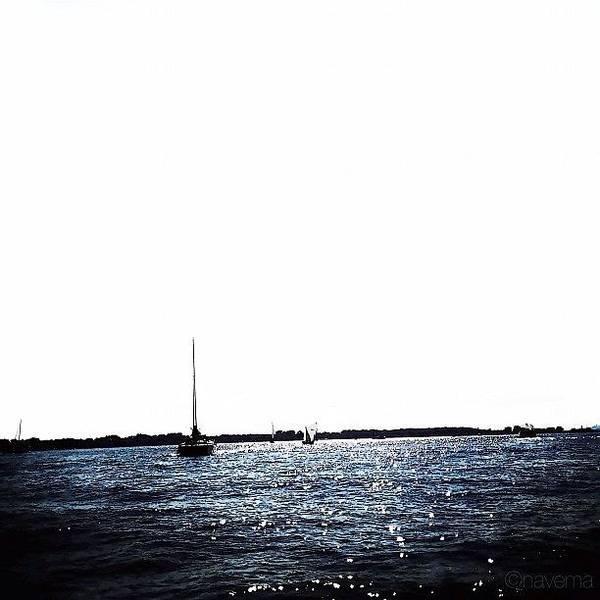 Minimalism Photograph - Sailing by Natasha Marco
