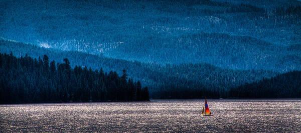 Photograph - Sailing Priest Lake by David Patterson