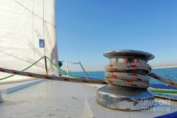 Wall Art - Photograph - Sailing by Sami Sarkis