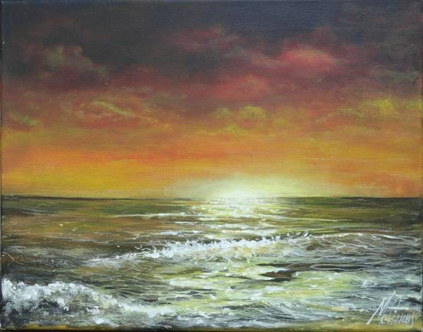 Captiva Island Painting - Sailors Warning by Jk Mcgreens