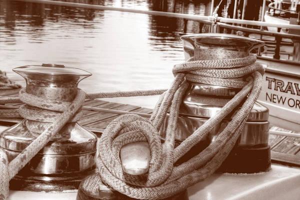 Photograph - Sails Down by Barry Jones