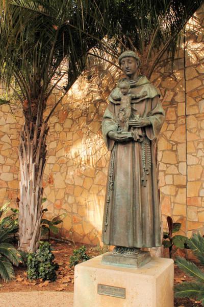 Photograph - Saint Anthony Of Padua II by Sarah Broadmeadow-Thomas
