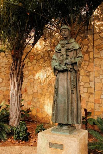 Photograph - Saint Anthony Of Padua by Sarah Broadmeadow-Thomas
