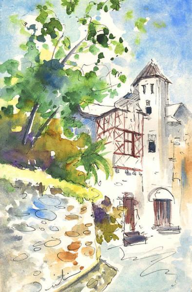 Pyrenees Painting - Saint Bertrand De Comminges 03 by Miki De Goodaboom