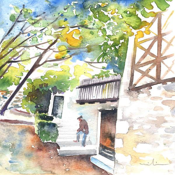 Pyrenees Painting - Saint Bertrand De Comminges 09 by Miki De Goodaboom
