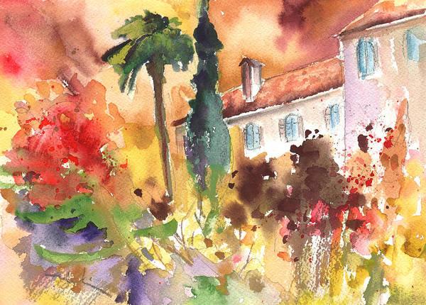 Pyrenees Painting - Saint Bertrand De Comminges 12 by Miki De Goodaboom