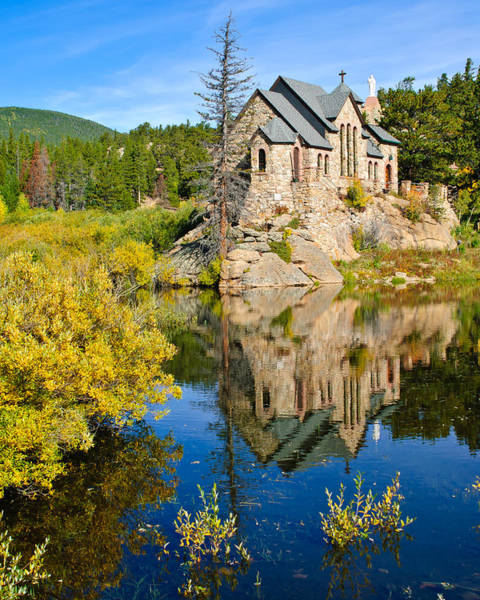 Wall Art - Photograph - Saint Catherine's Chapel by Doug Andrews