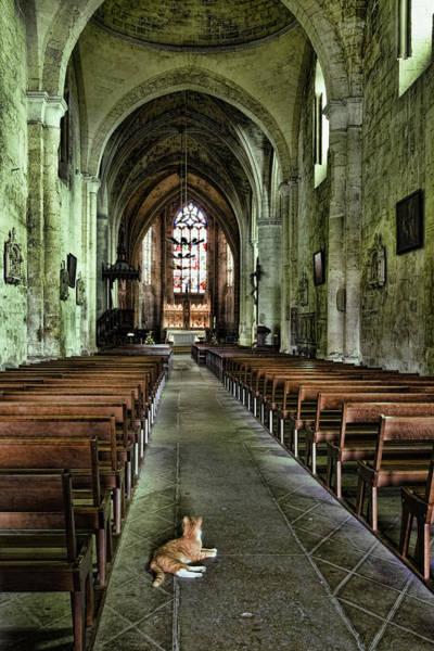 Photograph - Saint Emilion Church by Wes and Dotty Weber