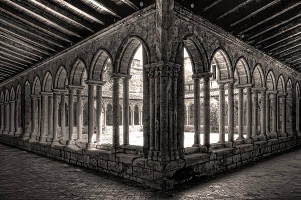 Photograph - Saint Emilion Cloister by Wes and Dotty Weber