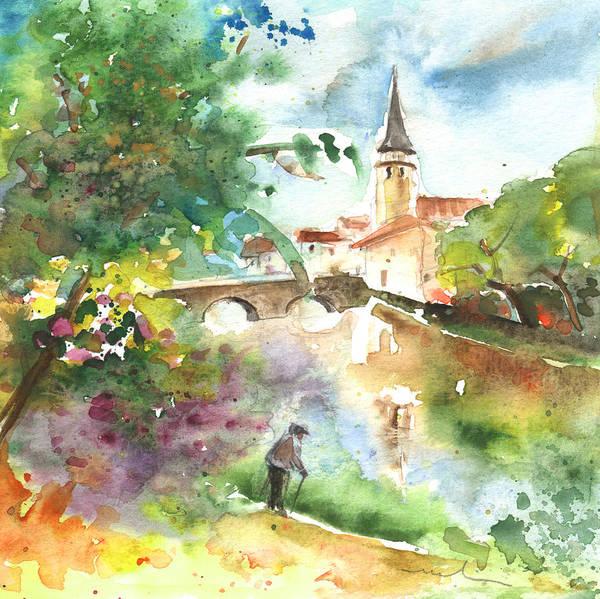 Wall Art - Painting - Saint Girons 03 by Miki De Goodaboom