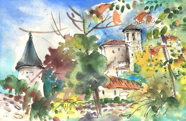 Pyrenees Painting - Saint Lizier 02 by Miki De Goodaboom