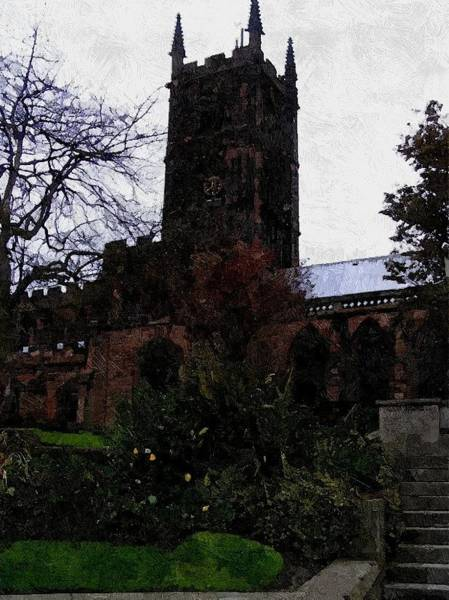 Photograph - Saint Peter's Collegiate Church by Sarah Broadmeadow-Thomas