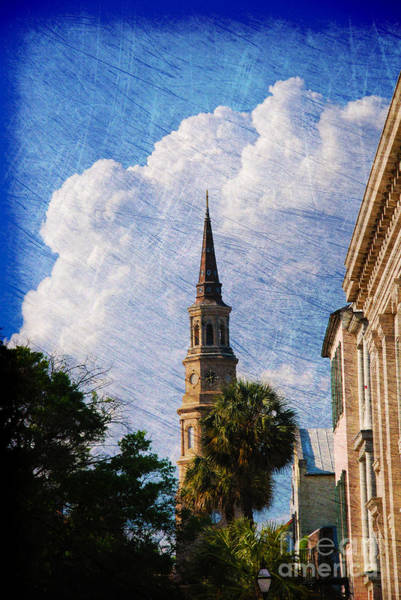 Photograph - Saint Philip Church In Charleston Sc by Susanne Van Hulst