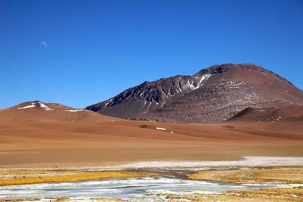 Salar De Atacama Photograph - Salar De Arizaro by Nicolas de Camaret