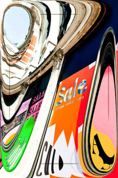 Commercialism Photograph - Sale by Tom Gowanlock