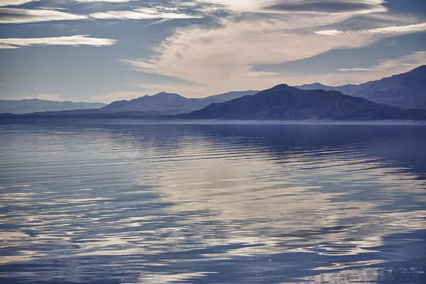 Sonny Bono Wall Art - Photograph - Salton Seascape by Linda Dunn
