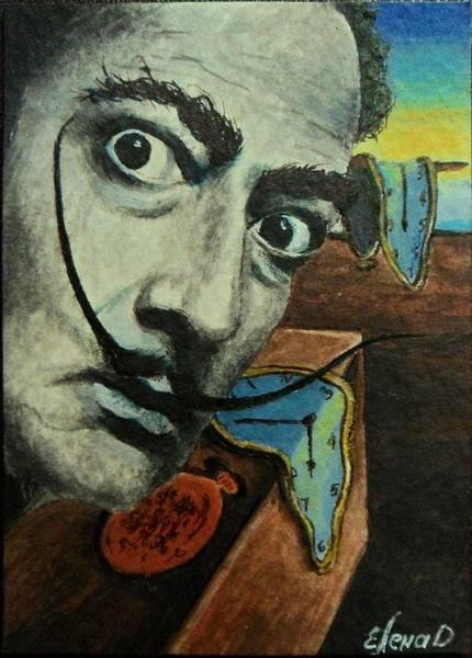 Salvador Dali Painting - Salvador Dali by Yelena Day
