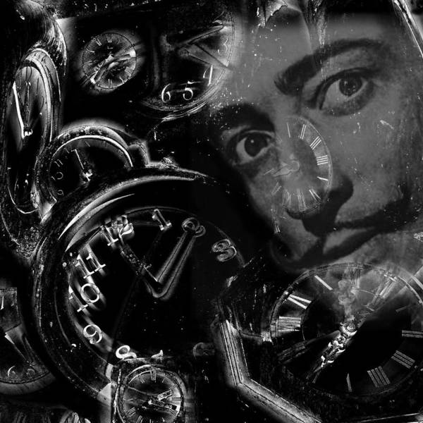 Photograph - Salvador Dali Montage by Andrew Fare