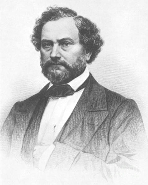 Wall Art - Photograph - Samuel Colt, American Inventor by Science Source
