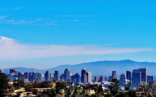 Wall Art - Photograph - San Diego Skyline From Point Loma by Russ Harris
