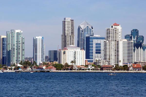 Photograph - San Diego Skyline by Jeff Lowe