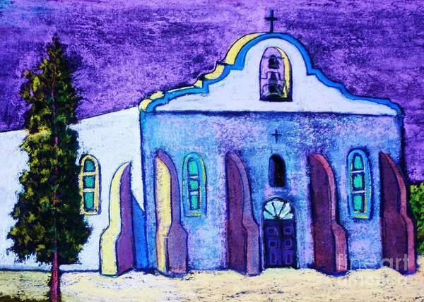 Painting - San Elizario Presidio by Melinda Etzold