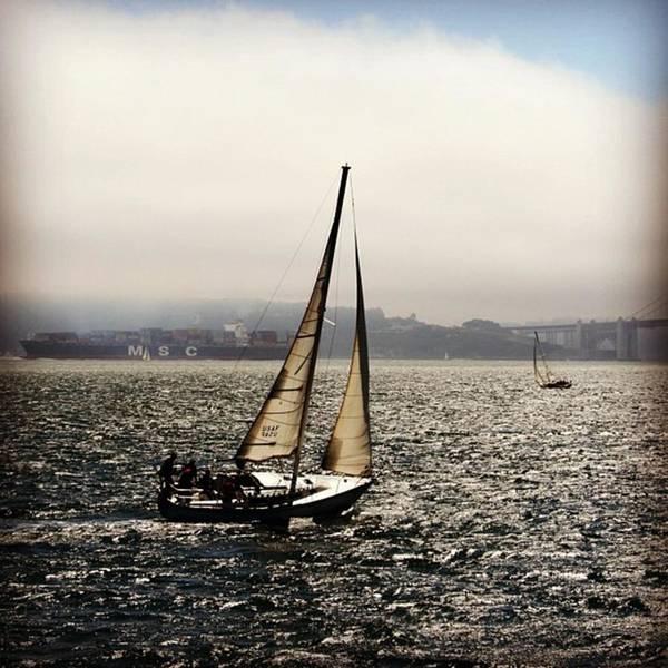 Sea Photograph - San Francisco Bay by Luisa Azzolini