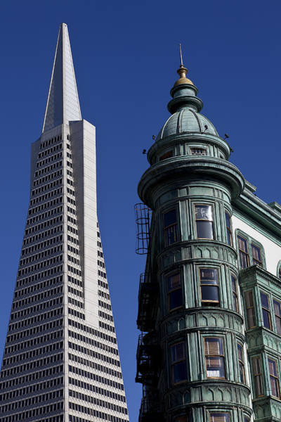 Sentinel Photograph - San Francisco Buildings by Garry Gay