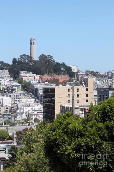 San Francisco Coit Tower Art Print