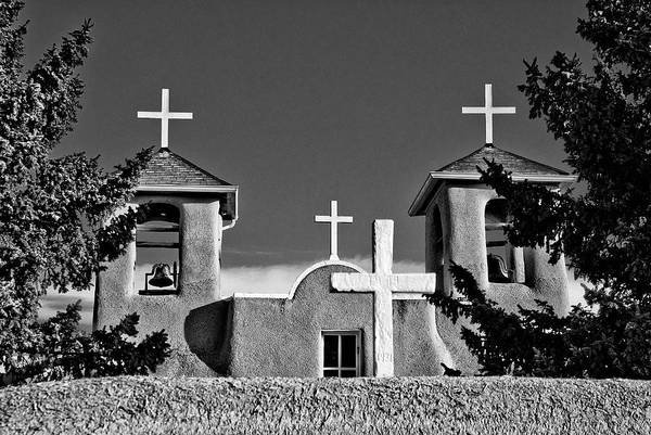 Photograph - San Francisco De Asis Mission Church 10 by Lou  Novick