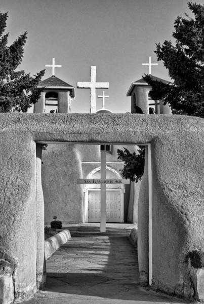 Photograph - San Francisco De Asis Mission Church 9 by Lou  Novick