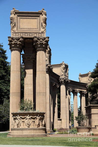 Photograph - San Francisco Palace Of Fine Arts - 5d18168 by Wingsdomain Art and Photography