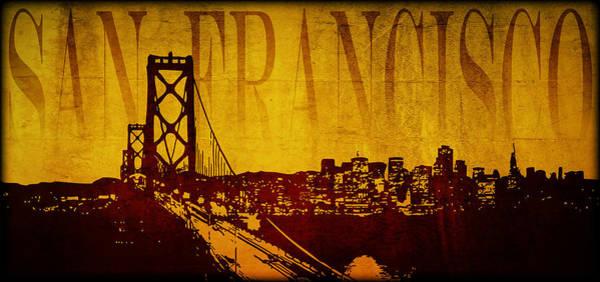 Wall Art - Digital Art - San Francisco by Ricky Barnard