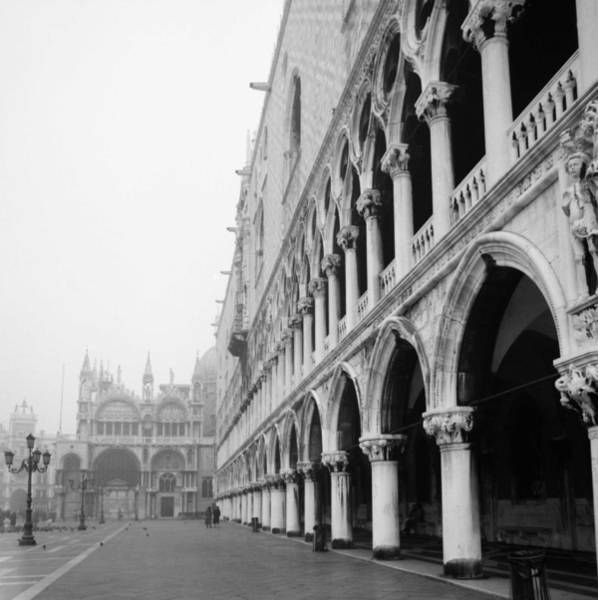 Photograph - San Marco Square In Venice by Emanuel Tanjala