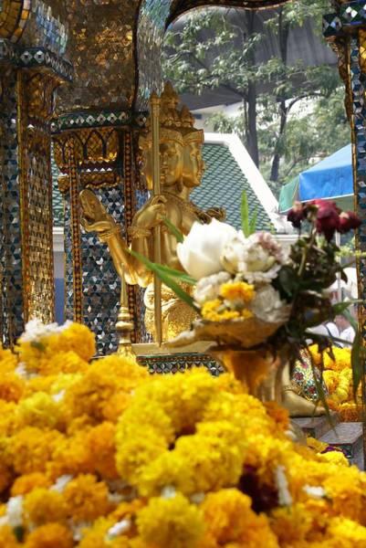 Phra Phrom Photograph - San Phra Phrom by Gregory Smith