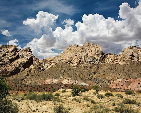Photograph - San Rafael Reef In Utah by Endre Balogh