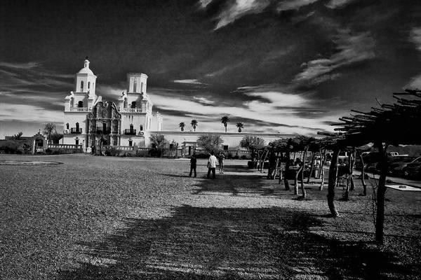 Photograph - San Xavier Del Bac Mission by Tom Singleton