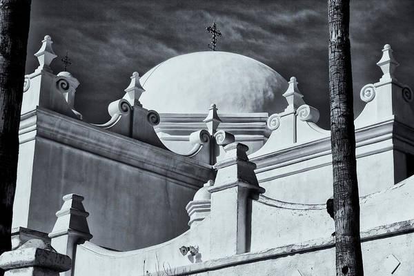 Photograph - San Xavier Dome by Tom Singleton