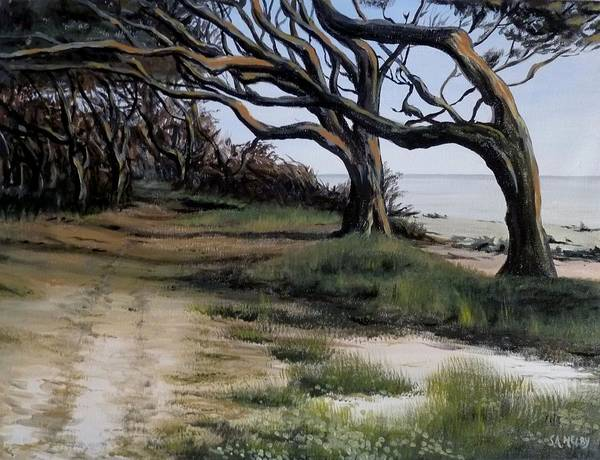Jekyll Island Painting - Sanctuary by S A Melby