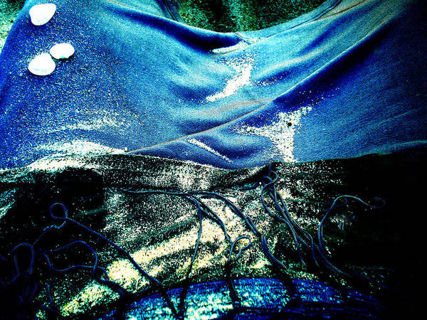 Photograph - Sand And Shells On Dress by Colette V Hera  Guggenheim