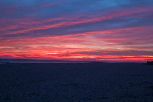 Photograph - Sand And Sunset by Tom Singleton