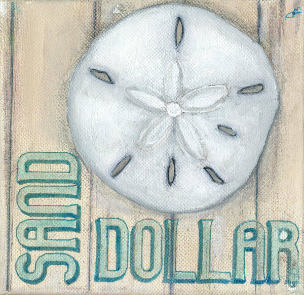 Painting - Sand Dollar by Debbie Brown