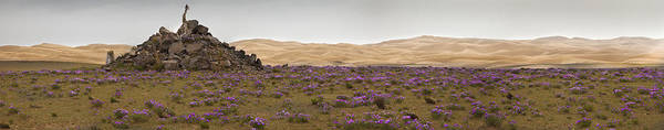 Wall Art - Photograph - Sand Dunes And Flat Landscape Near Lake by Phil Borges