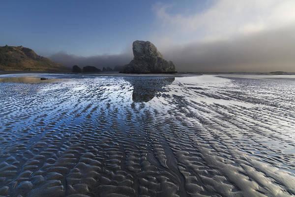 Rogue River Wall Art - Photograph - Sand Sculptures by Debra and Dave Vanderlaan