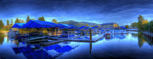 Photograph - Sandpoint Marina And Power House 1 by Lee Santa