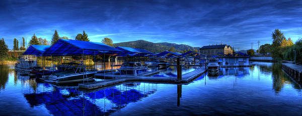 Photograph - Sandpoint Marina And Power House 3 by Lee Santa